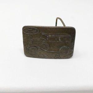 Vintage Ford Model A Belt Buckle